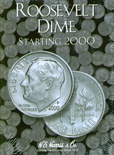 Roosevelt Dime #3 2000 - Date 2941 Harris New