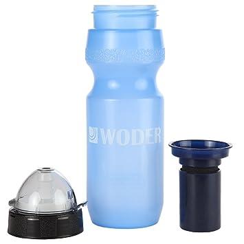 portable water filter bottle. Woder N22-Sur Survival Water Filter Bottle - 22oz. Nalgene Portable Purification Unit