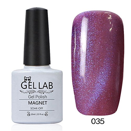 GEL LAB Soak Off 3D Cat Eye Gel Polish Magnetic Nail Vanish