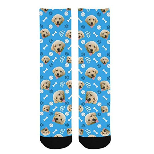 Dog Print Custom - Customized Dog Socks Custom Pet Socks Turn your Dog Picture into Custom Socks Cat Socks Unisex