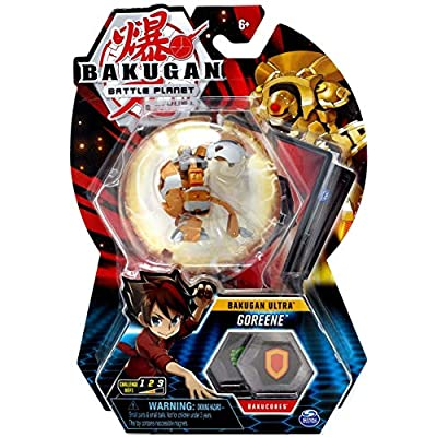 Bakugan Ultra, Aurelus Goreene, 3-inch Tall Collectible Transforming Creature, Wave 7, for Ages 6 and Up,: Toys & Games