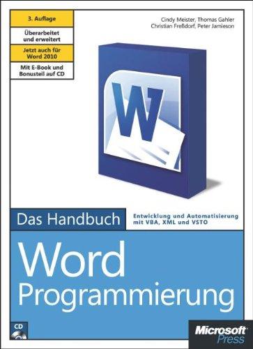 Microsoft Word-Programmierung - Das Handbuch: JetztauchfürWord2010