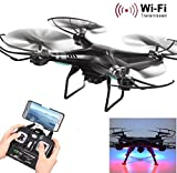 Sumilulu X5SW-1 6-Axis Gyro 2.4G 4CH Real-time Images Return RC FPV helicopter with HD Camera