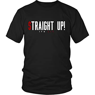 ca8bc21d5f68 Travis Scott Straight Up! It's Lit Rodeo T-Shirt | Amazon.com