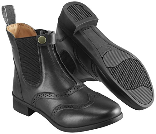 Harry Hall Women's EstonCity in Saskatchewan Canada Stiefel, Leder, Schwarz, Größe 6