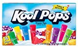 1 box of 16 pops Kool Pops regular flavors
