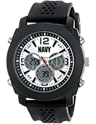 Wrist Armor Men's 37400005 U.S. Navy C21 Analog-Digital Display Japanese Quartz Black Watch