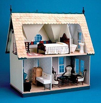New Greenleaf Corona Dollhouse Kit Orchid Gift