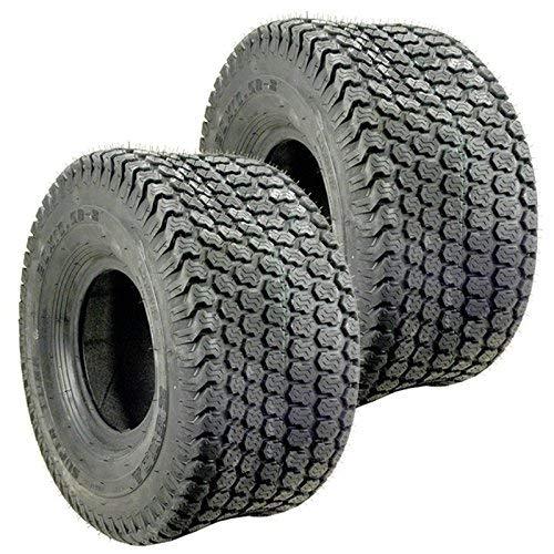 Set Of 2 Kenda K500 Super Turf Mower Tire 4 PLY ()