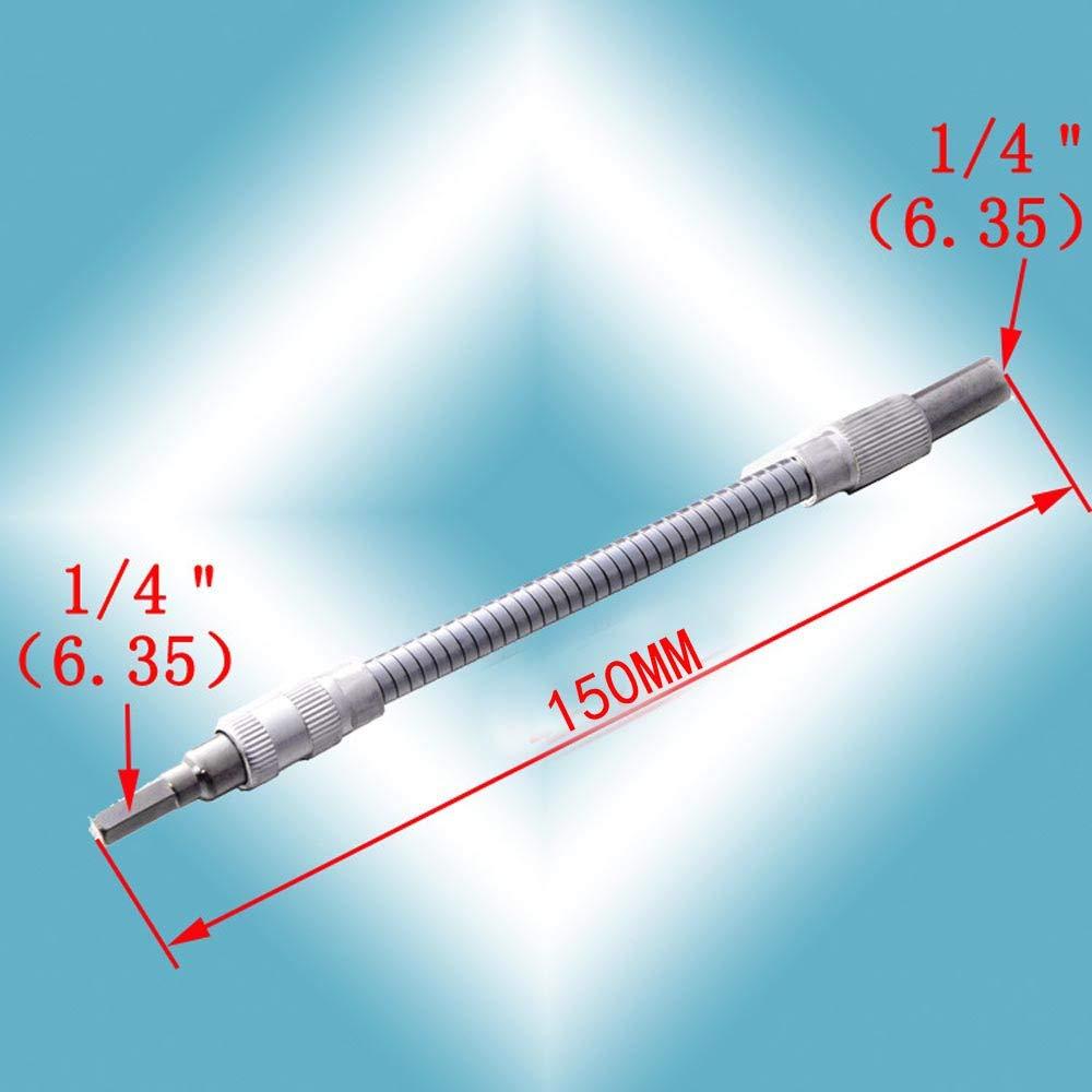 Webla Arbre Flexible Universel En M/étal Embout Bielle Silver 200Mm Adaptateur De Liaison Flexible Pour Arbre De Cintrage Flexible Pour Perceuse /Électronique