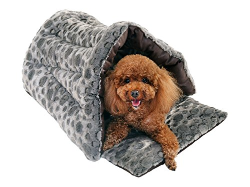 [SUMMER OVERSTOCK CLEARANCE] PLS BIRDSONG Slipper Cuddle Bed, Small, Pet Cave, Dog Cave, Cat Cave, Dog Beds, Cat Beds, Dog Beds for Small Dogs