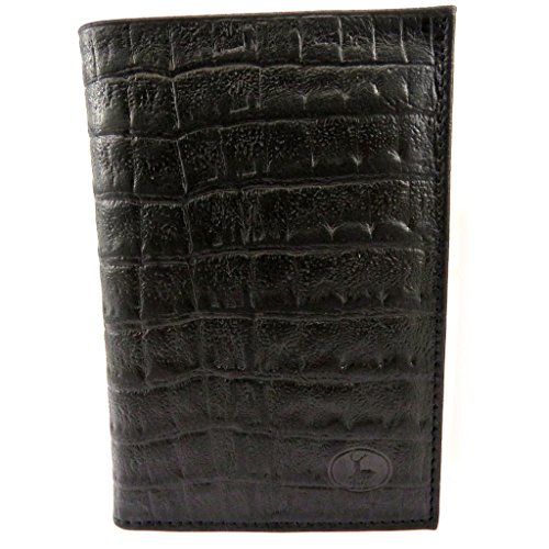 Portafoglio 'frandi'coccodrillo Nero In Pelle In Nero Pelle 'frandi'coccodrillo Portafoglio Portafoglio HqdqSxFAw