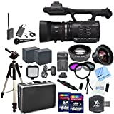 Panasonic AG-AC90A AVCCAM CAMCORDER Video Camera, AGAC90APJ, With CS Interview/Documentary Kit: Includes Wireless Lapel