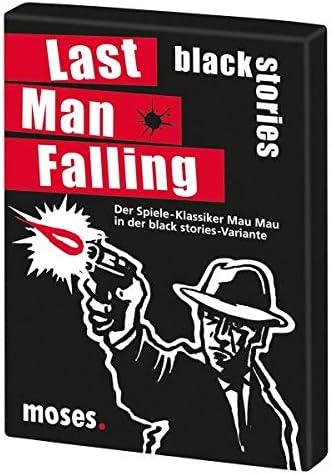 moses 90017 Black Stories Last Man Falling - Juego de Cartas: Amazon.es: Juguetes y juegos
