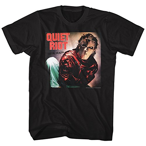 Quiet Riot- Album T-Shirt - Black