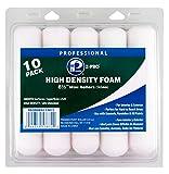 """Premier 6-1/2"""" High Density Foam Mini Roller, 10 Pack, 53872"""