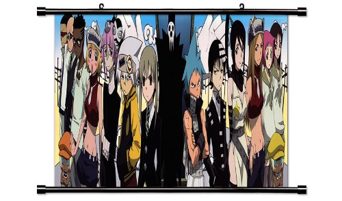 Soul Eater Fabric Wall Scroll Poster  Inches -soul eater-272