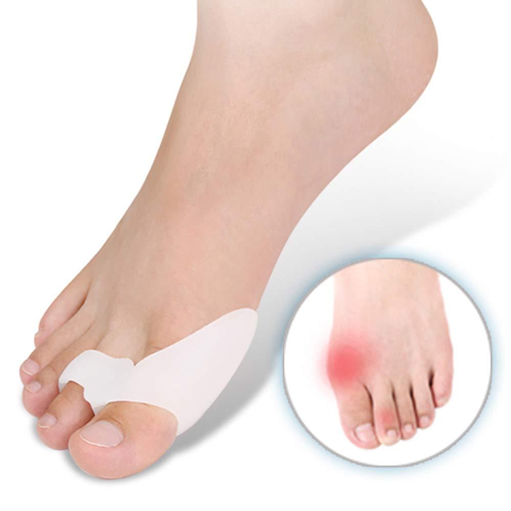 Toe Splints Straightener Broken Toe Wraps Cushioned Bandages Hammer Toe Separator Splints for Broken Injured Finger Hammer Toe by XSM (Image #6)
