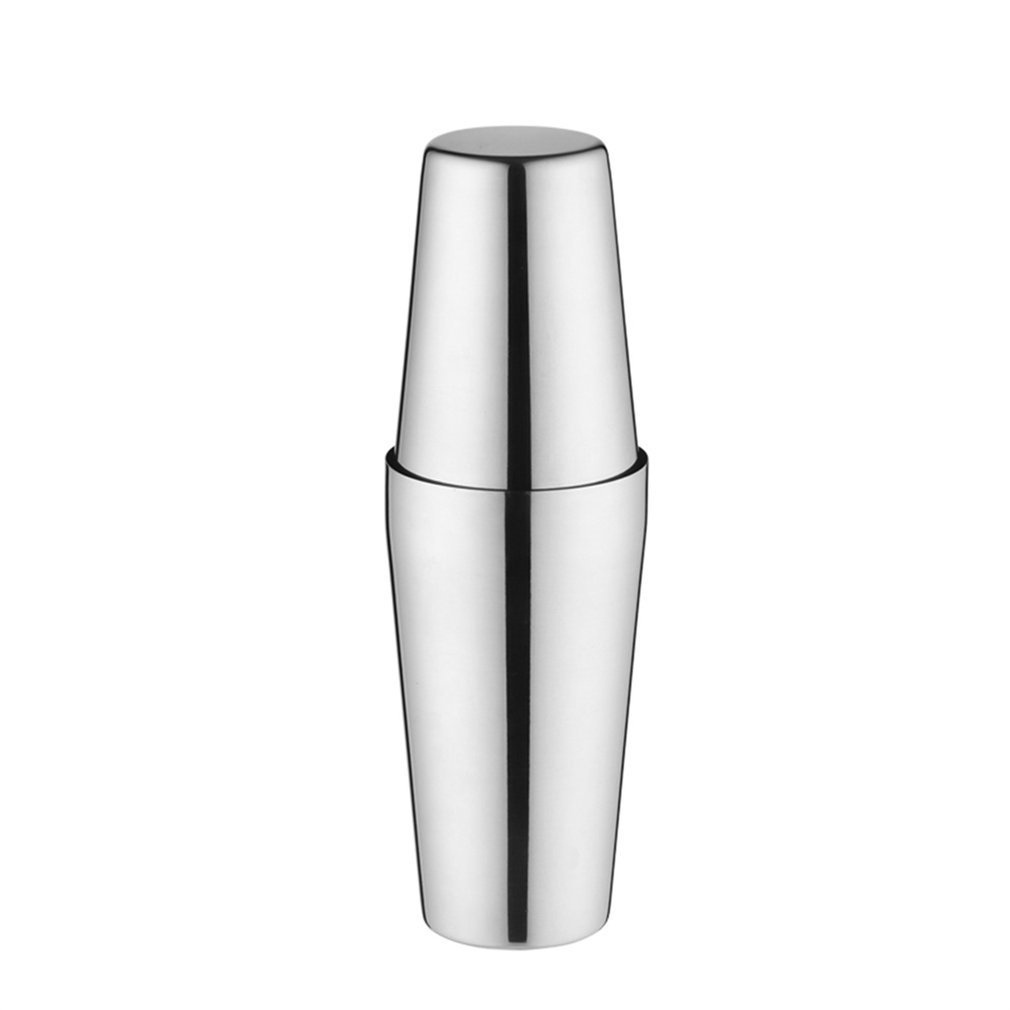 Stainless Steel Cocktail Shaker Set S75-9 600ML Boston Style Mixer for Gift Practical Kitchen Gadget Naisidier