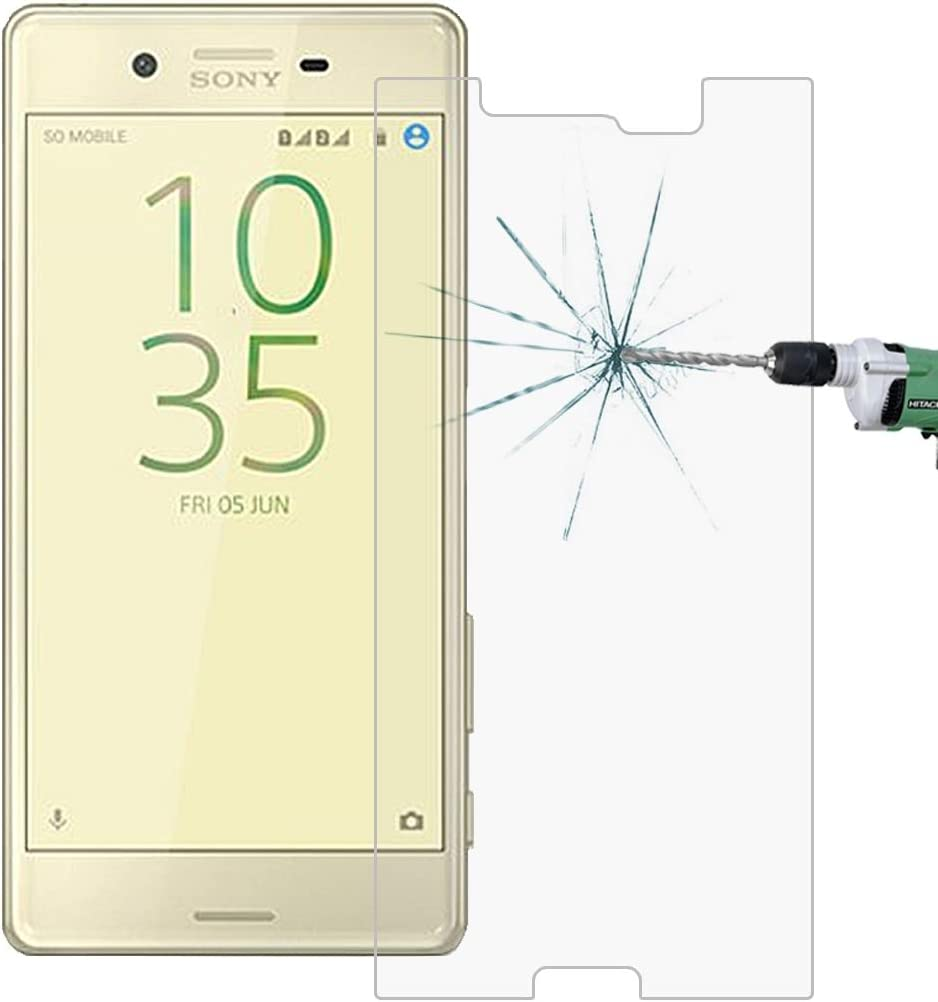 Yangmeijuan Mobile Accessory 100 PCS for Sony Xperia X Performance 0.26mm 9H Surface Hardness 2.5D Explosion-Proof Tempered Glass Screen Film Cell Phone Replacement Parts