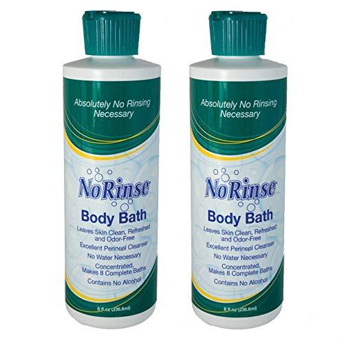 No-Rinse Body Bath - 8 fl oz (Pack of 2)