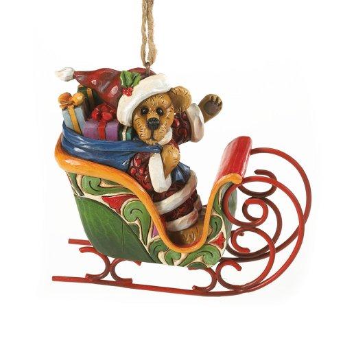 Enesco Jim Shore for Boyd's Bears Bearing Gifts Resin Ornament