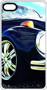 Classic VW Bug Close Up Clear Plastic Case for Apple iPhone 4 or iPhone 4s