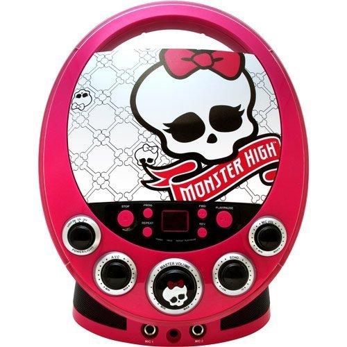 Sakar Monster High Disco Party CDG (Top Load Cdg Karaoke Machine)