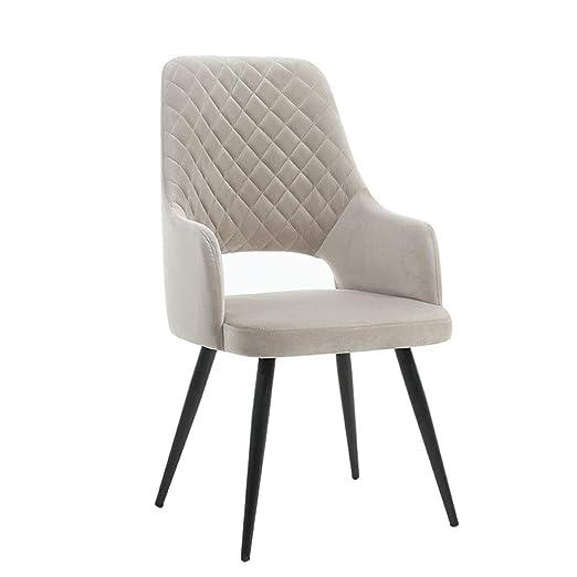 BYTGK Silla de Comedor de diseño Moderno, sillones Retro ...