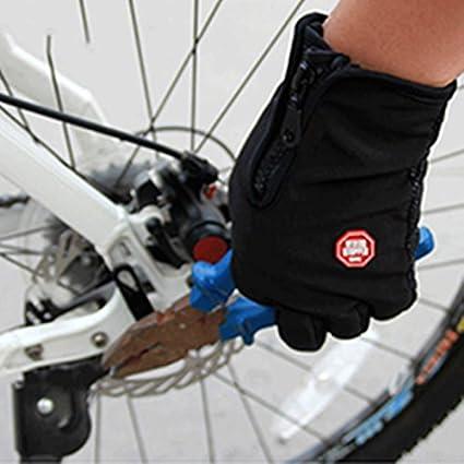 Anself Guantes Deportivos Guantes c/álidos Resistente al viento al aire libre para Ciclismo Esqu/í Senderismo
