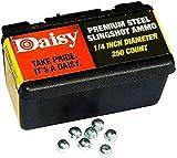 "Daisy 8114 1/4"" Steel Slingshot Ammo, 1 Pack (Original)"