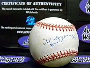 Chub Feeney Autographed Baseball - National League - Autographed Baseballs