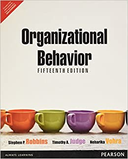 Organizational behavior, global edition, 17th, robbins, stephen p.