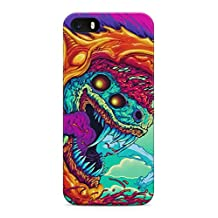 Hyper Beast Csgo Hard Plastic Snap-On Case Cover For iPhone 5 / iPhone 5s / iPhone SE