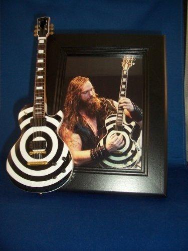 Little Guitar Shop BLACK LABEL SOCIETY ZAKK WYLDE Guitar Picture Frame