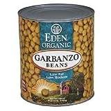 Eden Foods Organic Garbanzo Bean, 108 Ounce - 6 per case.