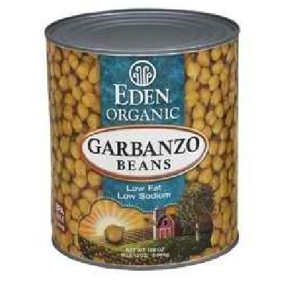 Eden Foods Organic Garbanzo Bean, 108 Ounce - 6 per case.