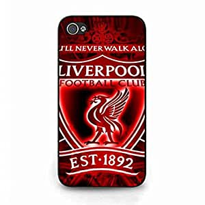 The Premier League Liverpool FC Phone Funda,Apple iPhone 4(S) Rubber Protective Skin Cover