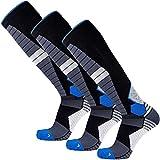 Thermal Compression Ski Socks - Warm Socks for Skiing and Snowboarding