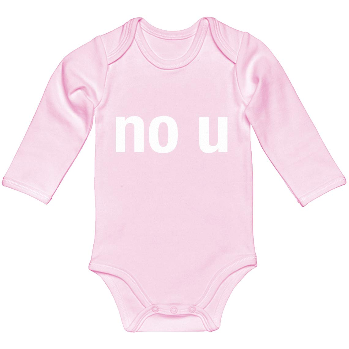 Baby Romper No U 100/% Cotton Long Sleeve Infant Bodysuit