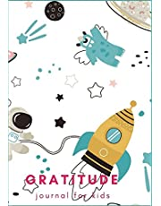 Gratitude Journal For Kids: Cute Monster In Space : Gratitude Journal For Boys, Gratitude Journal Notebook Diary Record for Children Boys Girls With Daily Prompts to Writing and Practicing for Happiness. (Diary Happiness Notebook For Children Boys Girls) (Volume 4).