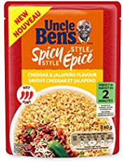 Uncle Ben's Spicy Style Cheddar & Jalapeno Flavour, Cheddar Jalapeno, 240 Gram