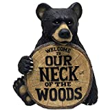Design House 328179 Neck of The Woods Bear, 17.4-Inches