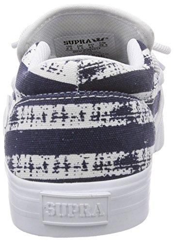 NST NAVY Blau CUBA WHITE Sneakers Supra STRIPE Herren IxqgtStw0