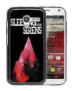 sleeping with sirens 01 Black Hard Plastic Motorola Moto X Phone Cover Case