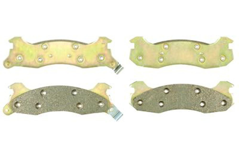 Duralast Brake Pads >> Duralast Brake Pads D204 Amazon Co Uk Car Motorbike