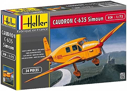 Heller 80208 1:72 Scale Caudron C-635 Simoun Model
