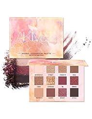 AIKIMUSE Eyeshadow Palette 12 Colors Glitter Eye Shadow...