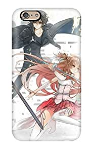 ClaudiaDay Iphone 6 Well-designed Hard Case Cover Sword Art Online 1440*900 Protector