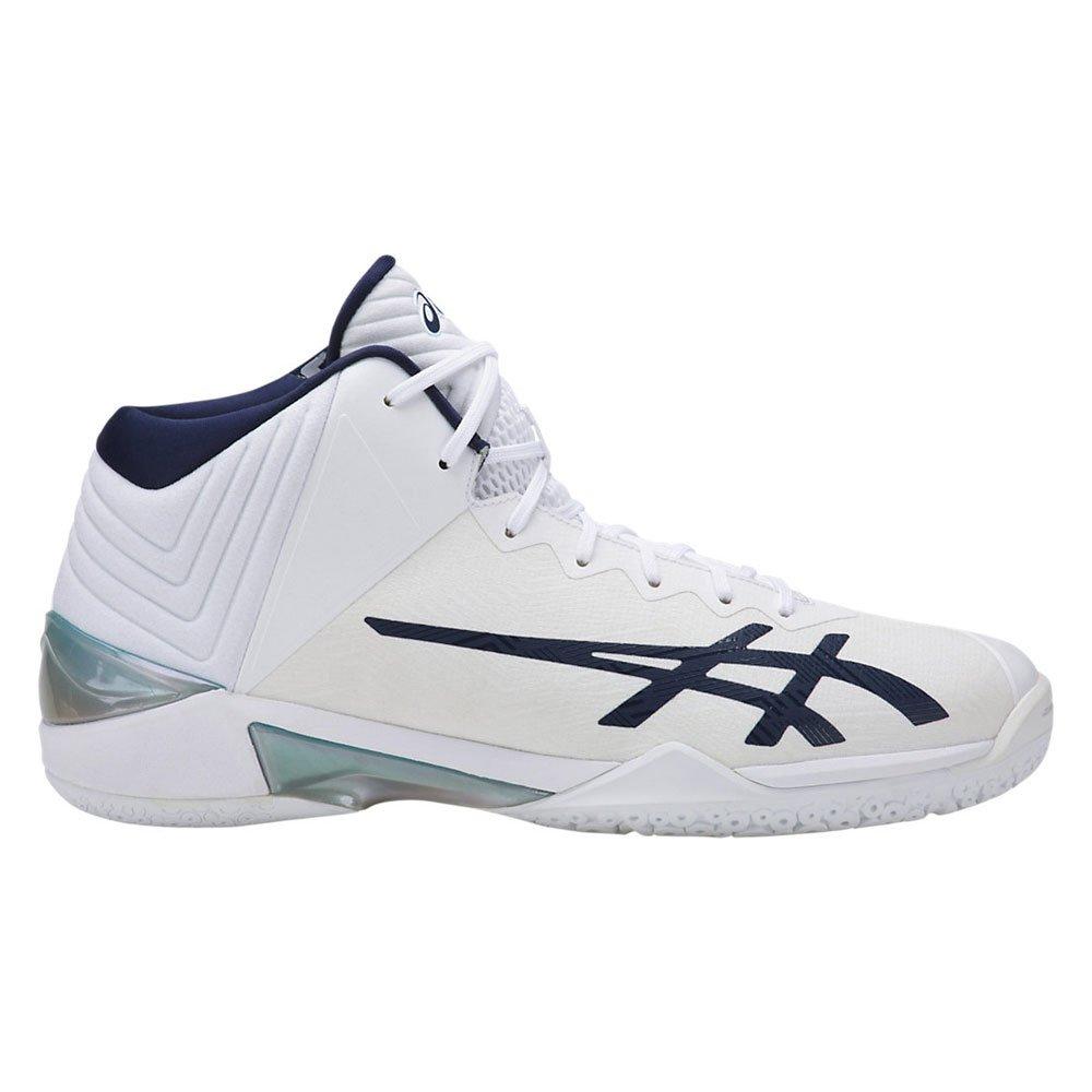 ASICS(アシックス)バスケットボールシューズ ゲルバースト22 GELBURAST TBF342 B07D6GNBFH 0149ホワイト×インディゴ 28